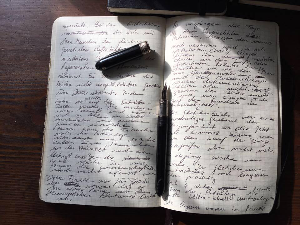 Zwei Monate intensiv schreiben